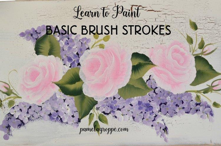 Learn Basic Painting Brush Strokes