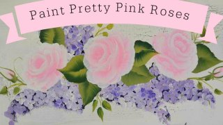 Paint Pretty Pink Roses