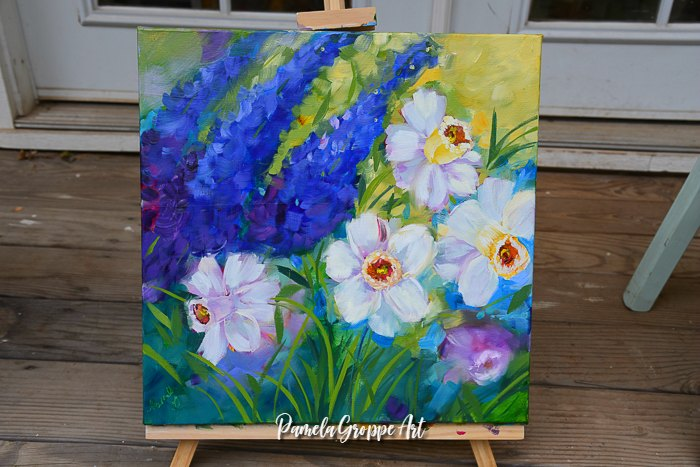 How to Gesso Canvas for better paintings