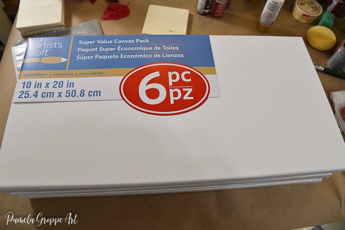 canvas panel economy pack