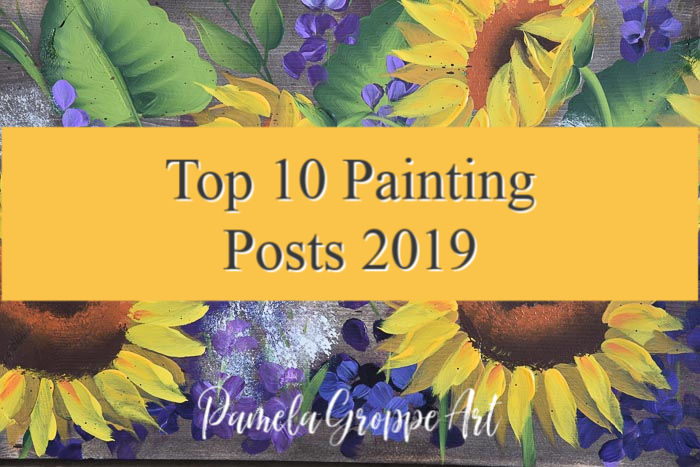 Top 10 Painting Posts of 2019