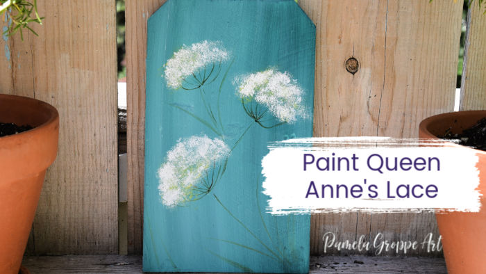 Queen Annes Lace painting tutorial
