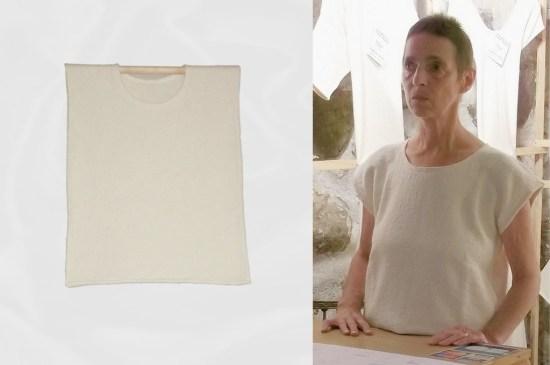 Tshirt-sans-manche F/H coton bio