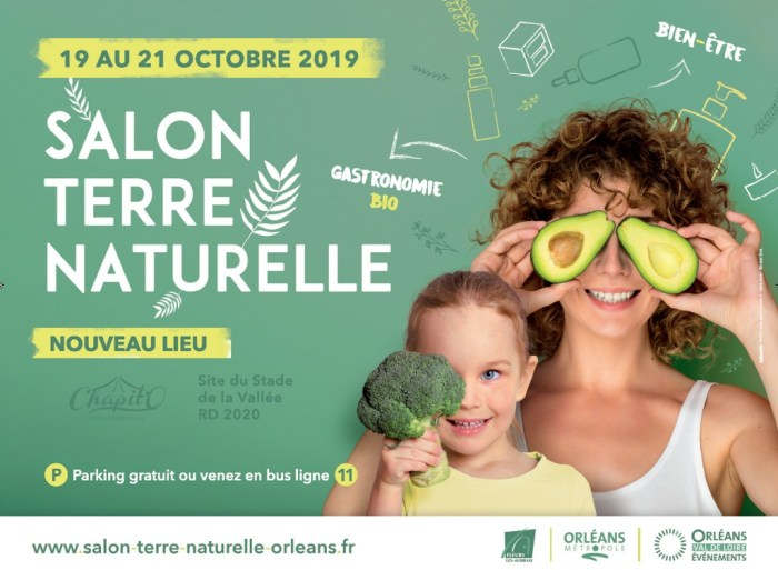 Salon terre naturelle Orleans