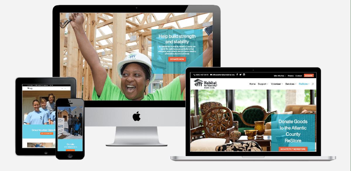Habitat for Humanity Atlantic City Website