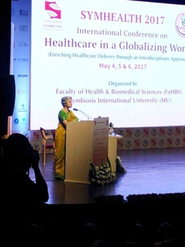 Keynote speaker Symhealth 2017 Healthcare
