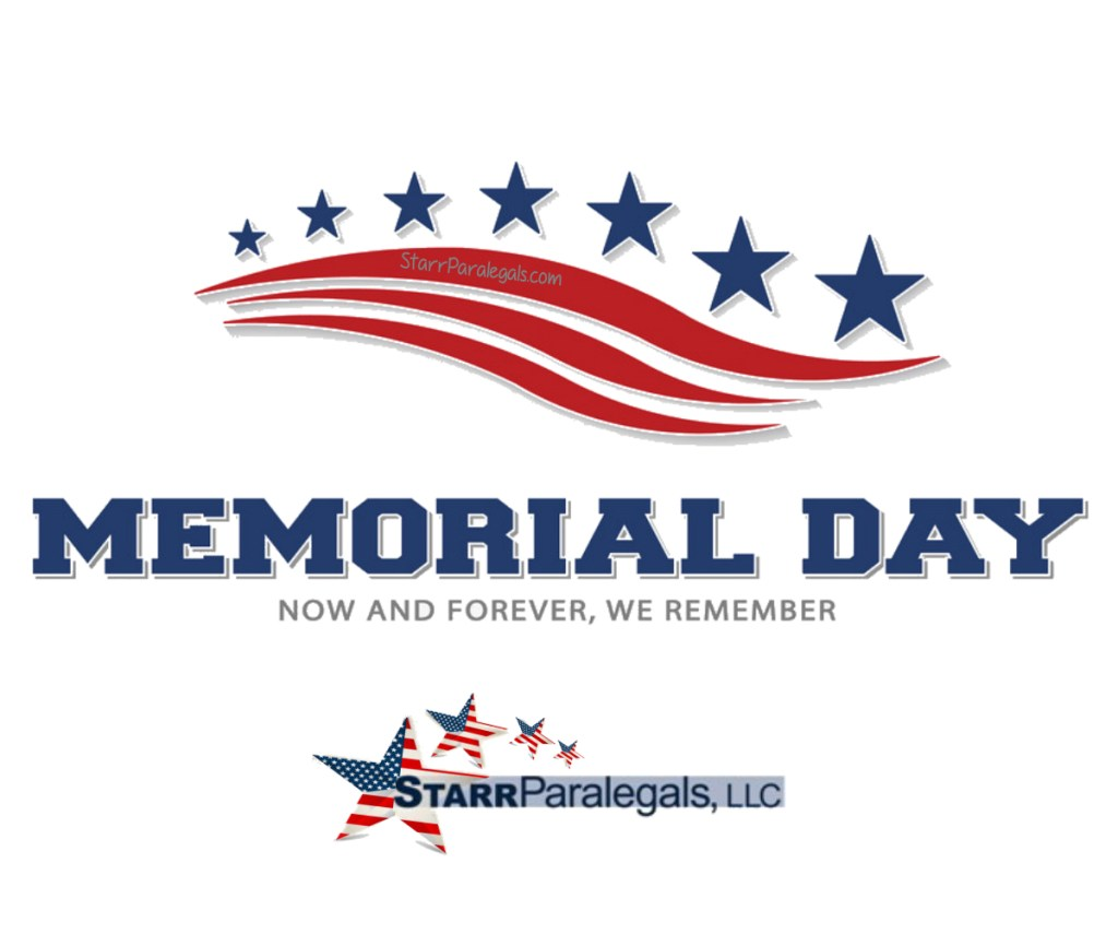 On Memorial Day, we remember & honor.