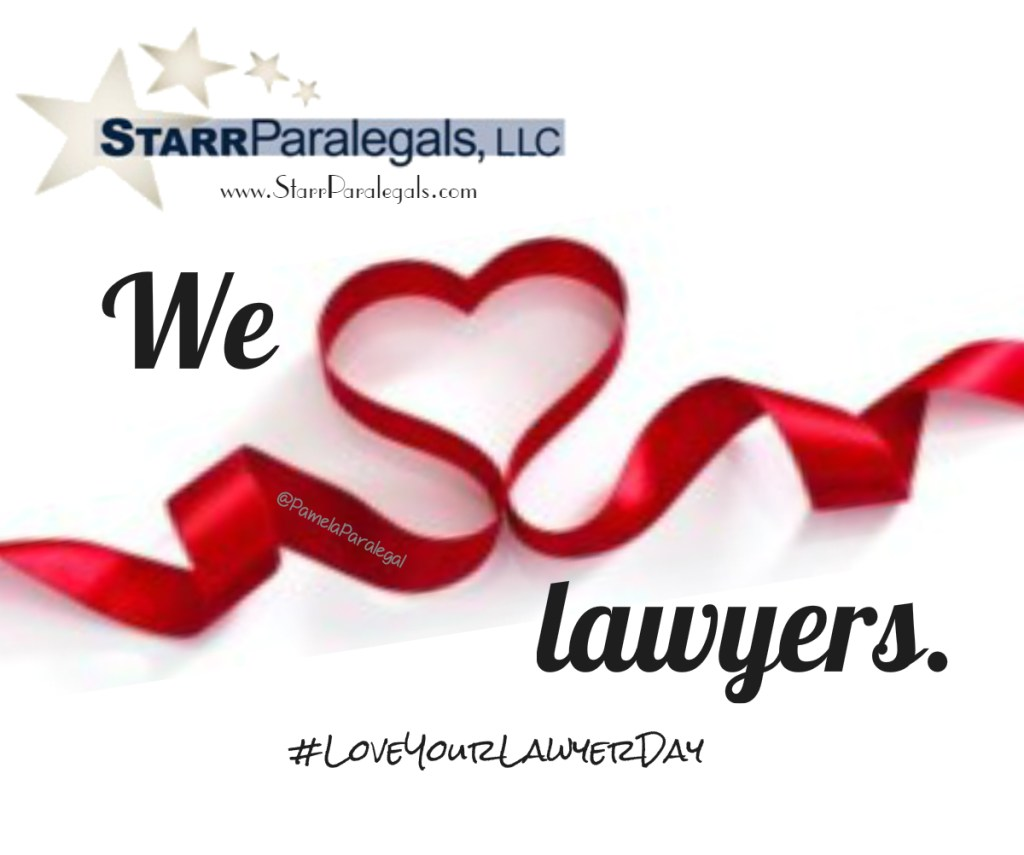 #LoveYourLawyerDay