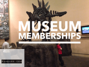 Museum Memberships have great benefits for homeschool families