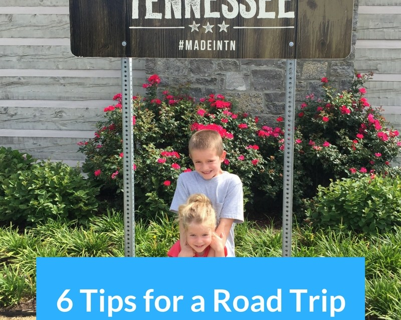 My 6 Tips for a Road Trip with Kids