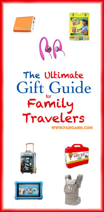 Ultimate Gift guide for Family Travelers
