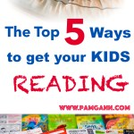 Top 5 Ways to Get Your Kid Reading