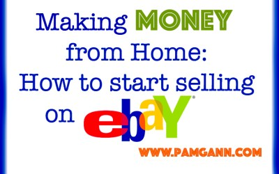 Making Money From Home: How to Start Selling On eBay