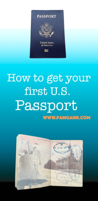 How to get your first U.S. Passport Whether you are getting ready for an upcoming international trip or you are an avid traveler and know you need to get one, you need to take these steps to getting your first US passport. What documents do you need? Where do you go? Can you do it online? How much does it cost? How long does it take? Can I check the status of my application? All that can be found here. #familytravel #travel