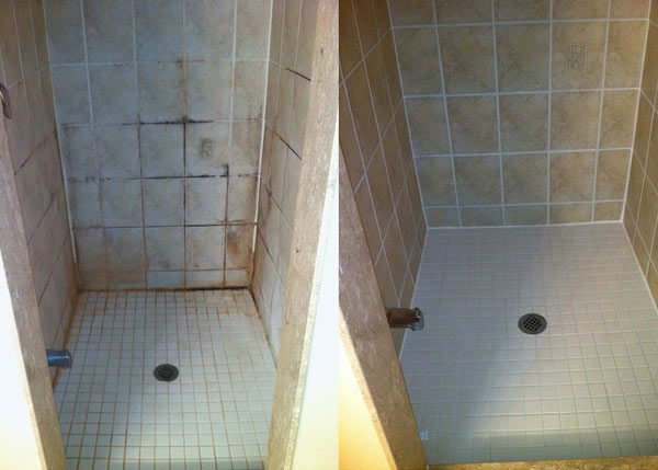 Shower Cleaning Regrouting  Pamircarpetcleaning