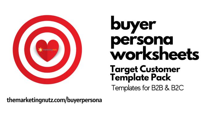 Buyer Persona Worksheet Templates