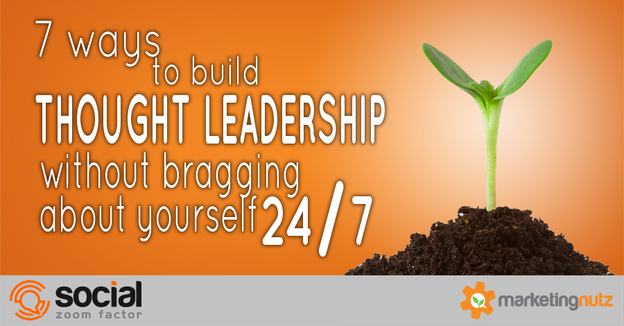 build thought leadership using social media digital marketing tips