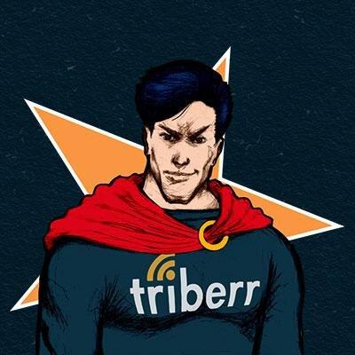 triberr increase blog traffic content marketing social media roi