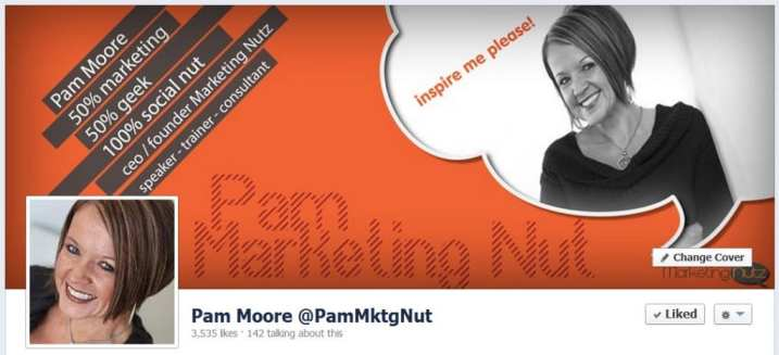 facebook cover image pam marketing nut