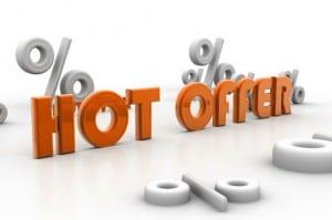 social media hot website special offer