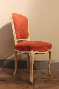 Vintage French Wooden Dining Chairs, Set of 6 for sale at ...
