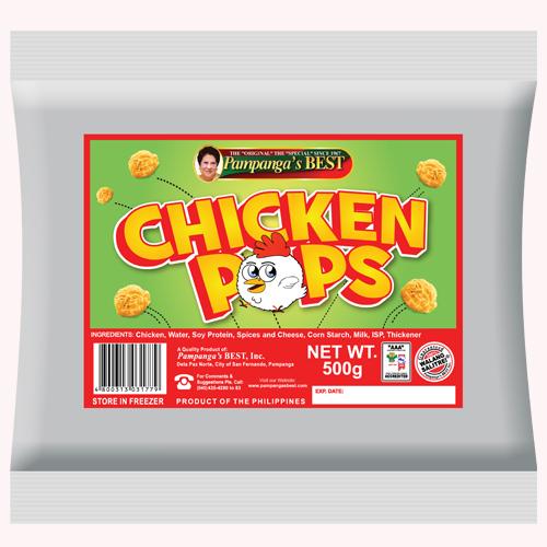 Chicken Pops 500G
