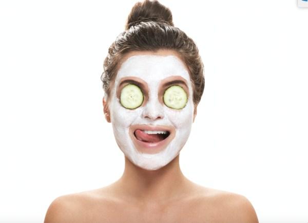 face mask maschera pulizia viso skincare routine