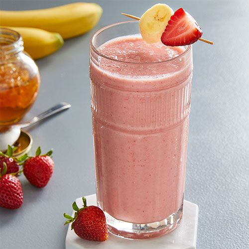 Strawberry Banana Smoothie - Recipes | Pampered Chef Canada Site
