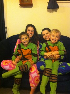 all in onesies!
