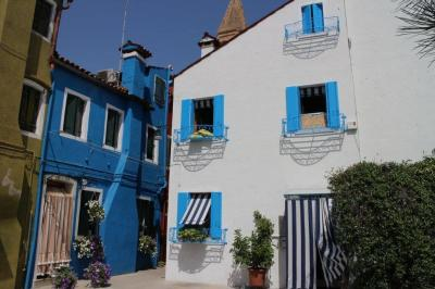 Lovely cottages at Burano