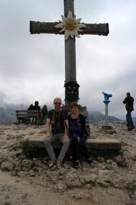 The cross at the top