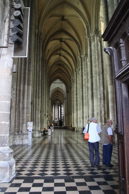 Inside the Cathedral...at the entrance