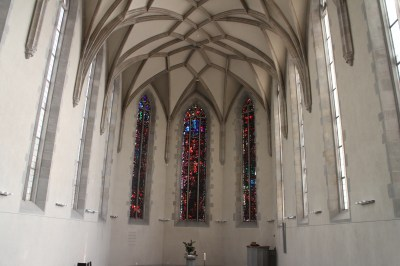 These church windows are by a famous artist?