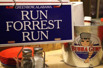 We finished off the day with a meal at Bubba Gumps Restaurant... Yum!
