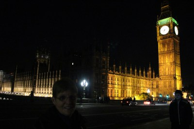 The Parliament Buildings and Big Ben at night