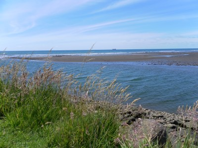 Next best place is the Waiwakaiho River mouth. A great spot for fishing!