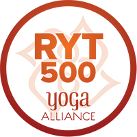 Yoga Alliance Registered Yoga Teacher 500 Hour Tag