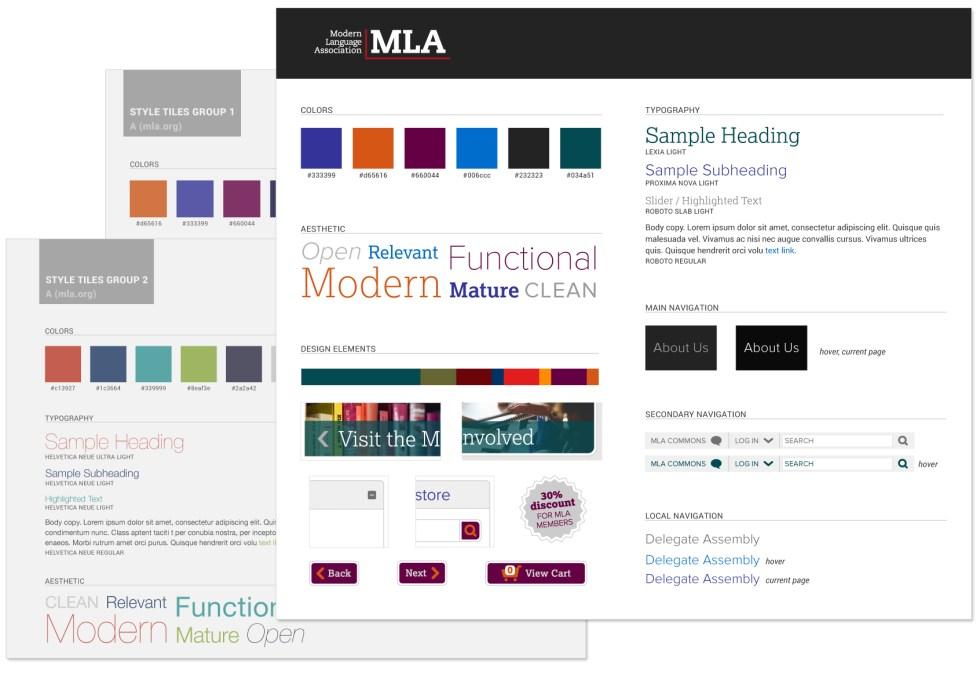 MLA Style Tiles