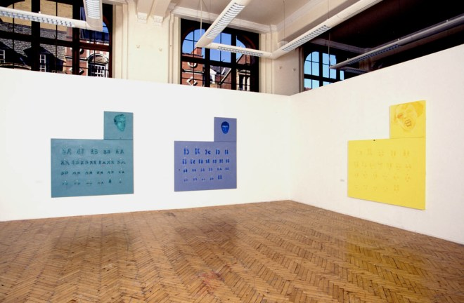 Pamela Hurwitz and her Friends, view of installation. School of Art, University of Central England, Pam Skelton, 2001