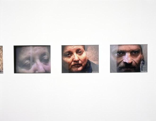 Liquidators, detail of installation, Camerawork, Pam Skelton, 1996. Photo Peter White