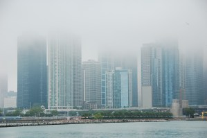 Foggy Chicago Morning