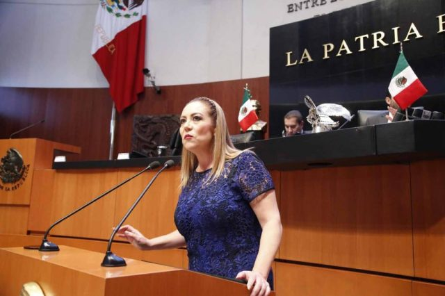 Senadora Alejandra Reynoso Sánchez, para referirse al acuerdo que limita  las participaciones de senadores   PAN SENADO 2020