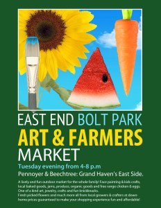 Bolt Park Art & Farmers Market @ Bolt Park | Grand Haven | Michigan | United States