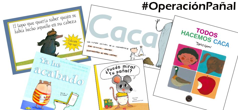 """5 libros infantiles para afrontar la """"operación pañal"""""""