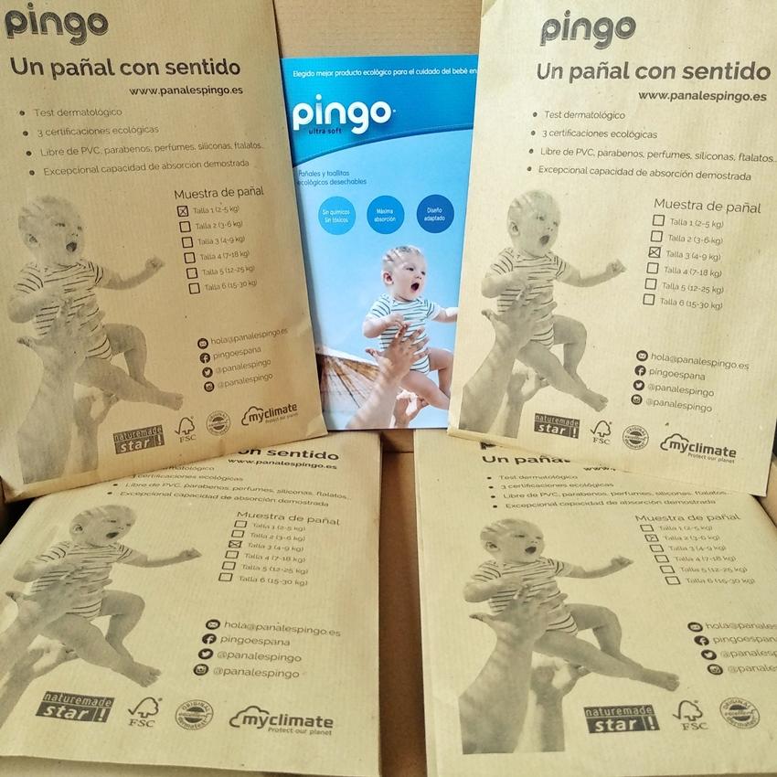 Muestras on line de pañales Pingo