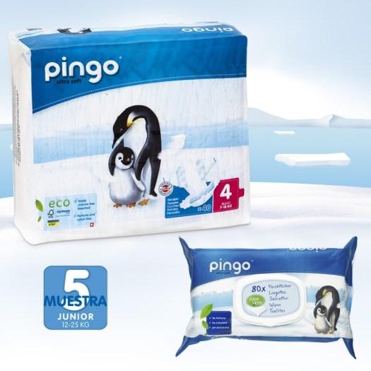 pack descubrimiento de pañales Pingo talla 4