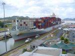 Visitors Center, Miraflores Locks Panama Canal.  Centro de Visitantes, Esclusas de Miraflores, Canal de Panama