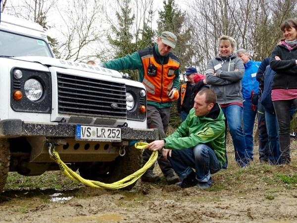 Seilwinden-Workshop mit Jörg