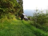 Übernachtungsplatz unterhalb vom Fort Gschwent