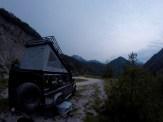 Übernachtungsplatz am Lago di Ca' Seöva